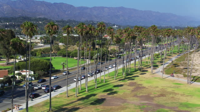 Carbrillo Blvd, Santa Barbara - Drone Shot video