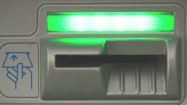 ATM Card Slot video