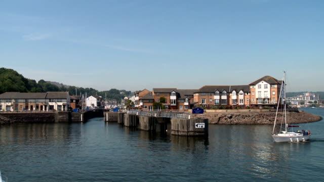Cardiff Marina Enterance video