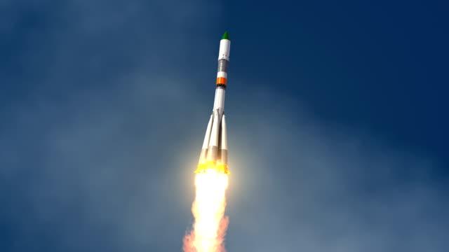 Cargo Carrier Rocket Launch video