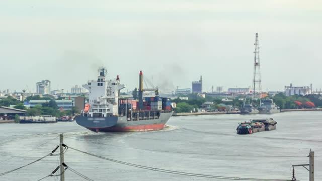 Cargo Container Ship video