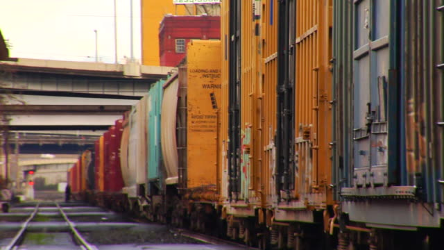 Best Freight Train Stock Videos and Royalty-Free Footage
