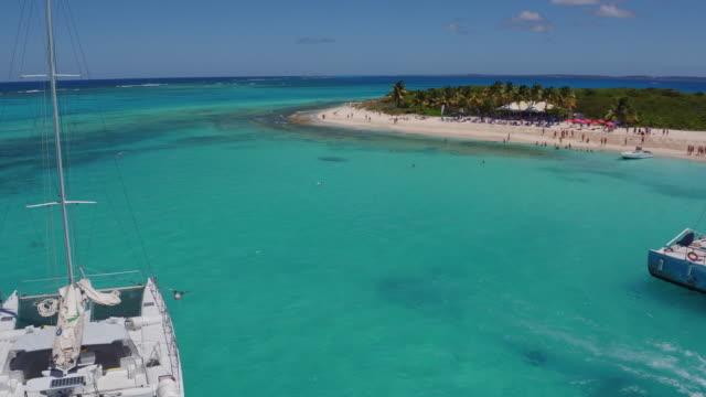 Caribbean sea - Drone view