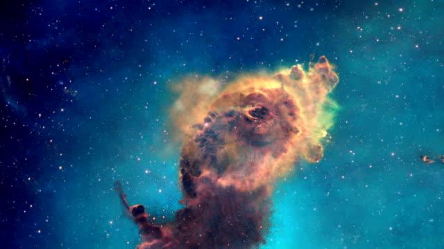 Carina Nebula in 3D rotation 1 video