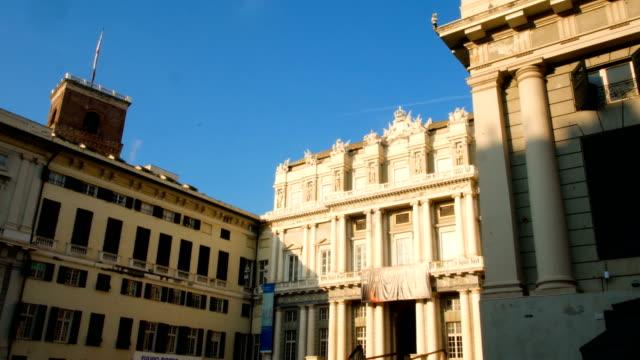 Carlo Felice theater, in the historic center of Genoa