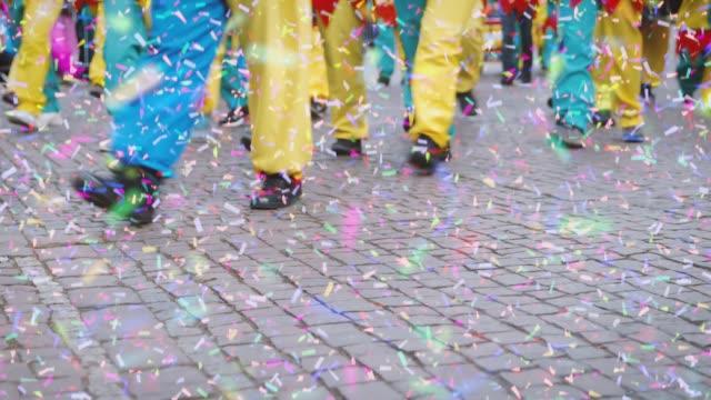 카니발 시네마 그래프-원활한 루프 - 사육제 스톡 비디오 및 b-롤 화면