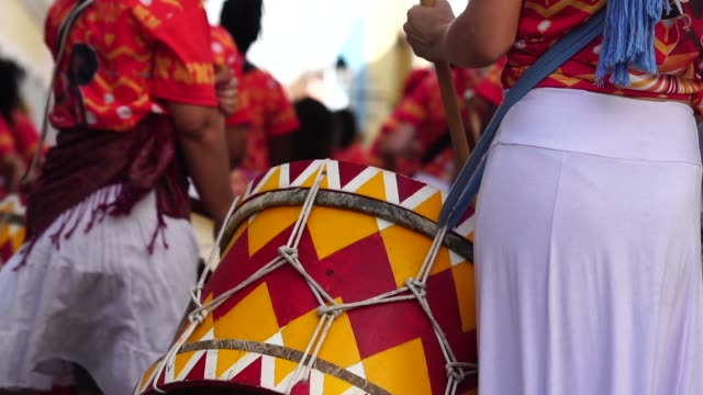 Carnival Parade Celebrating Carnaval in Brazil carnival celebration event stock videos & royalty-free footage