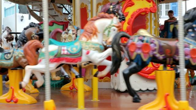 Carousel Horse video