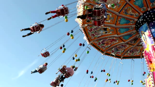 carousel spinning