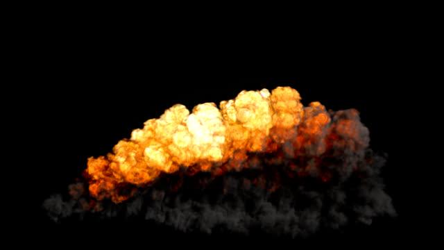 Carpet Bomb Explosion