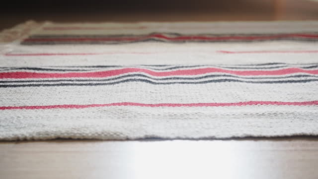 carpet closeup - vedio slid - tappeto video stock e b–roll