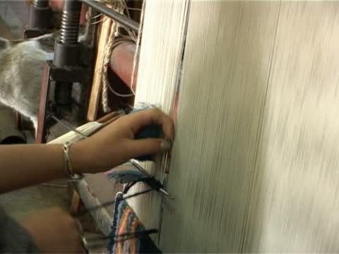 Carpet weavers video