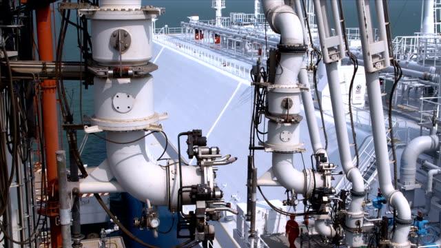 lng carrier terminal - tankfartyg bildbanksvideor och videomaterial från bakom kulisserna