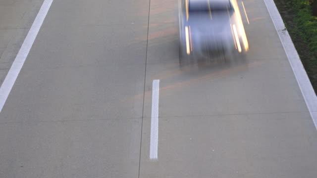 HD-Autos fahren Sie auf dem highway – Video