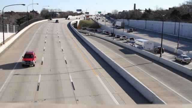 Cars in Highway Traffic II  HD video