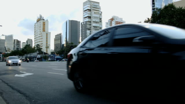 Timelapse de carros - vídeo