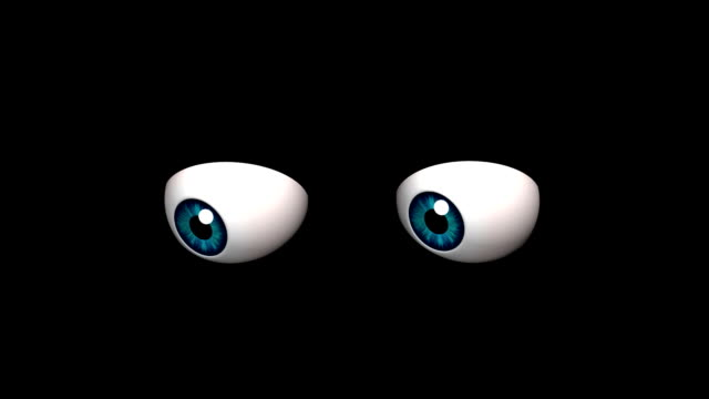 cartoon eyes​ video