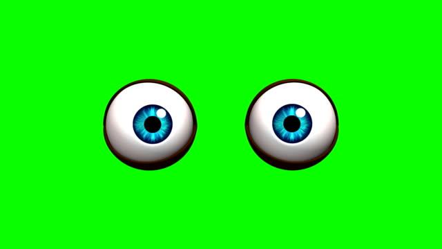cartoon eyes video