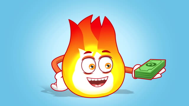 Fire Emoji Stock Videos and Royalty-Free Footage - iStock