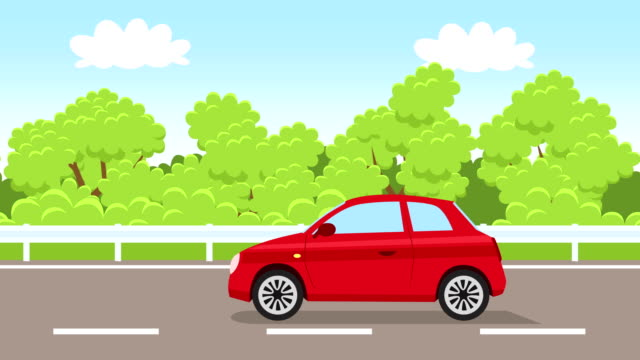 Image result for car on road cartoon