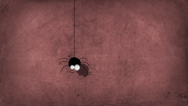 Cartoon Spider Character video