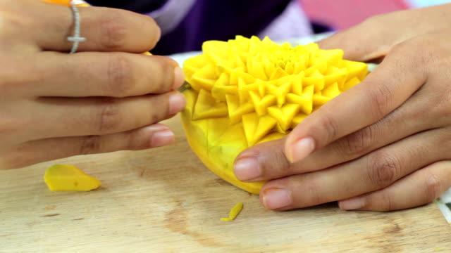 Carving Pumpkin video