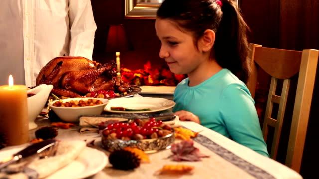 Escultura de Dia de Ação de Graças Turquia - vídeo