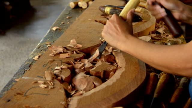 Madera Carving - vídeo