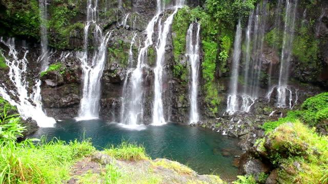 Cascade Langevin - Reunion Island video