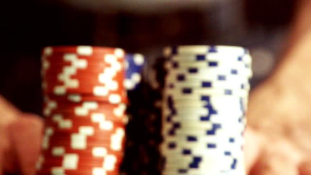 casinò di trucioli - gioco d'azzardo video stock e b–roll