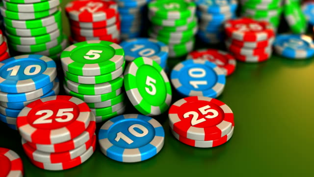 casino-chips  - zahl 25 stock-videos und b-roll-filmmaterial