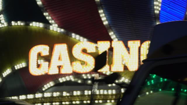 Casino light in las vegas