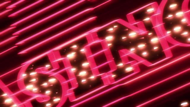 Casino Neon, HD Element video