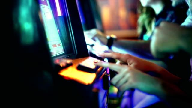 Casino night. video