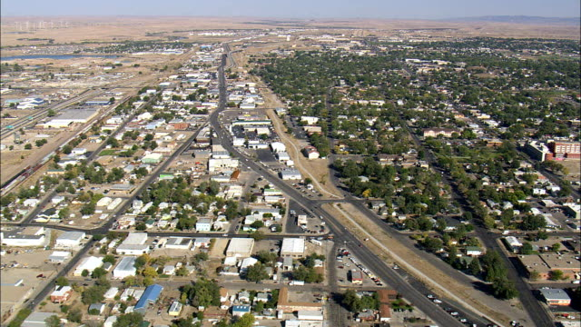 Casper - Aerial View - Wyoming, Natrona County, United States video