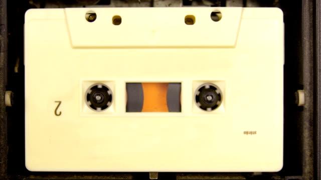 cassetta di riavvolgimento - cilindro video stock e b–roll