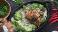 istock Cast Iron Chicken Chicken Thighs 985458250