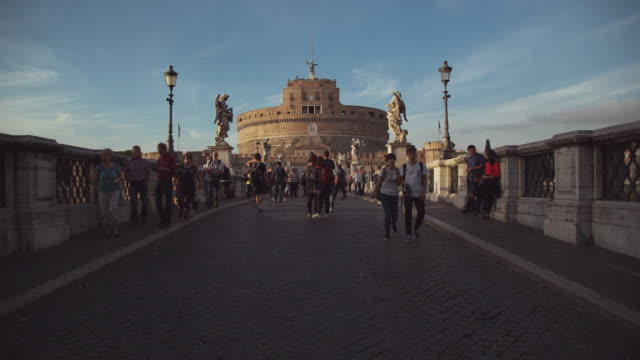 Castel Sant'Angelo fortress in Rome video