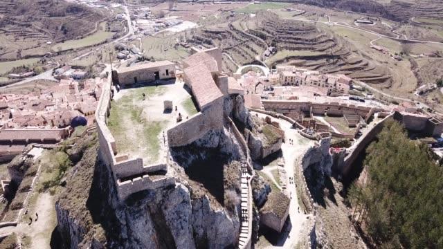 Castillo de Morella in ancient Spanish walled city Morella