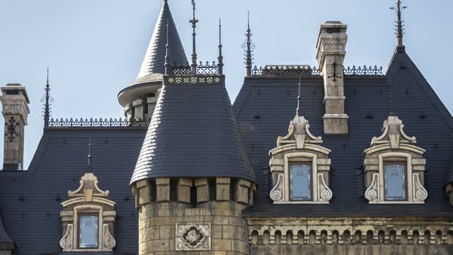 Castle in the Gothic style