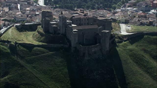 Castle Of Melfi  - Aerial View - Basilicate, Provincia di Potenza, Melfi, Italy