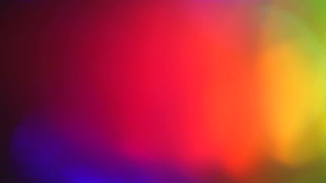 カジュアル varicoloured 暖かいサイバーパンクエレガントな虹色の背景 - 美人点の映像素材/bロール