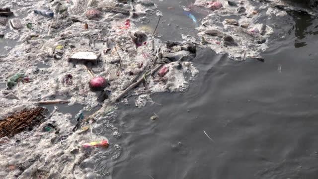 catastrophic water pollution in sacred  river Bagmati, Katmandu,Nepal video