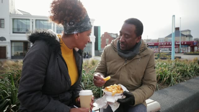 catch up over lunch - date night stock videos & royalty-free footage