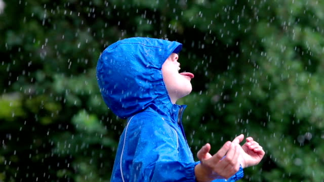 Catching raindrops#2 video