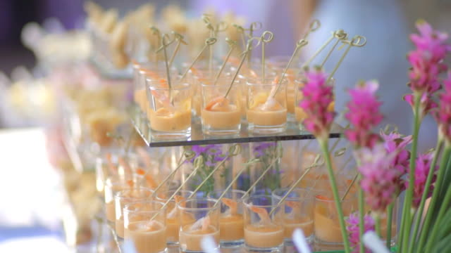 Catering Buffet video