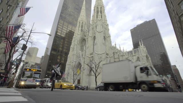 Cathedral Establishing Shot video