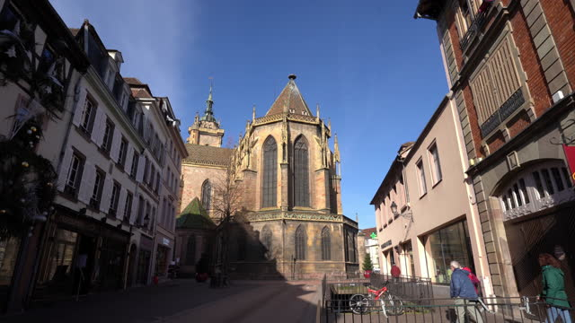 Cathedral of Colmar in France.