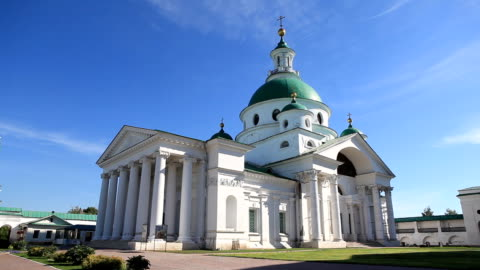 Cathedral of the Spaso-Yakovlevsky Monastery / Russia. Rostov video