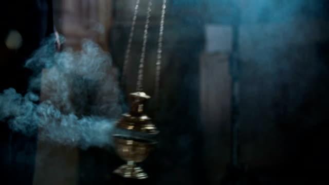 Catholic ceremony with incense video